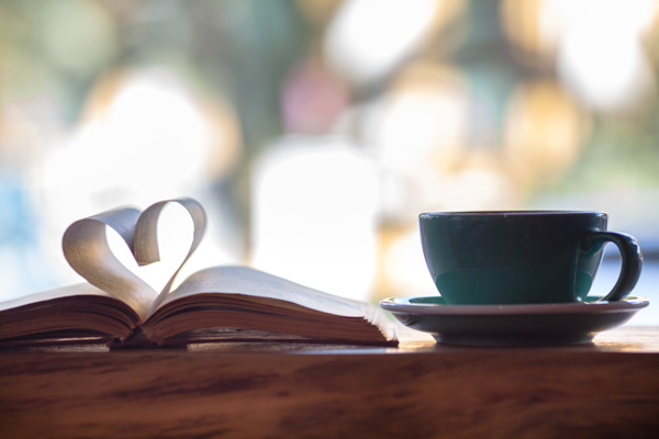 Book & Coffee Cup