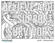Image of SAAM Coloring Page Version One (2017)