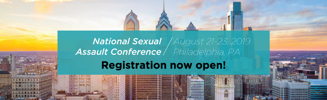 National Sexual Assault Conference - registration is now open