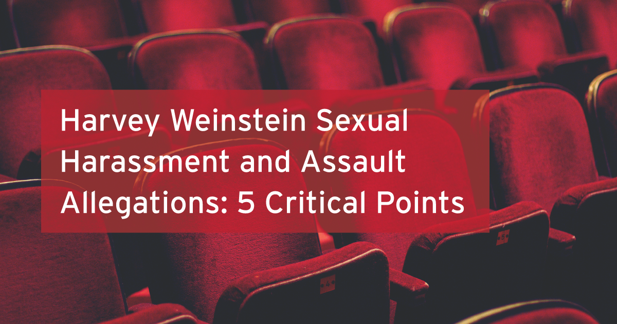 Harvey Weinstein talking points