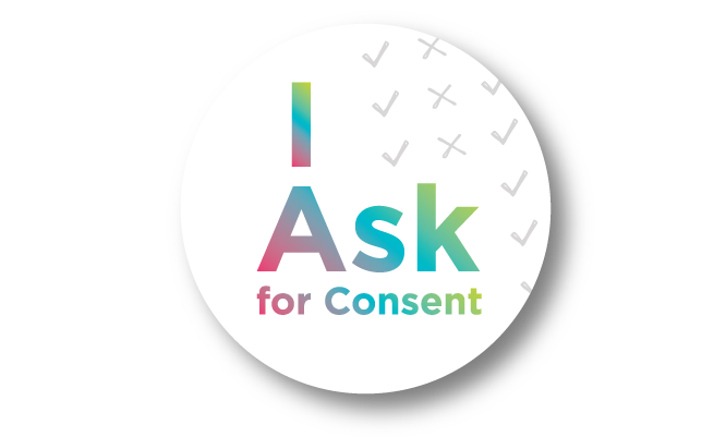 I Ask for Consent Button