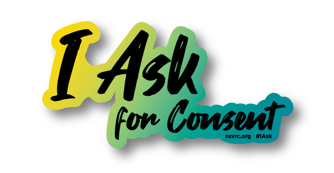 I Ask for Consent Sticker
