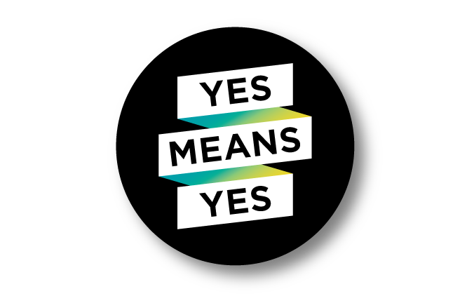 Yes Means Yes Button
