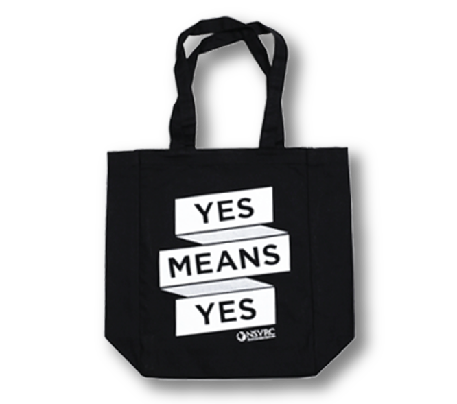 Yes Means Yes Tote