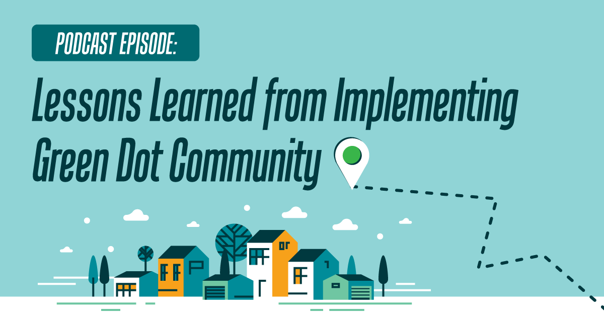 Podcast episode: Lessons Learned from Implementing Green Dot