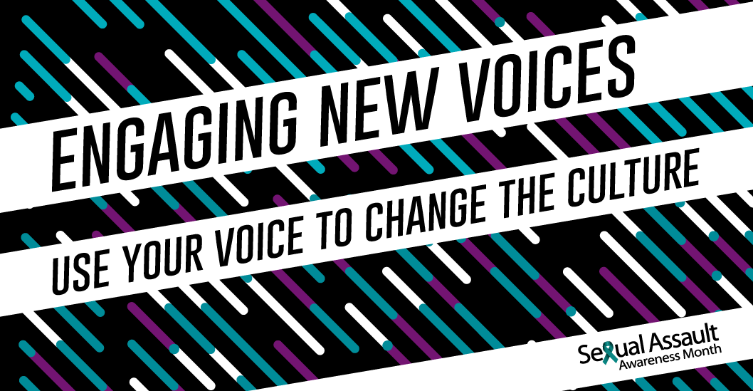 engaging new voices: use your voice to change the culture