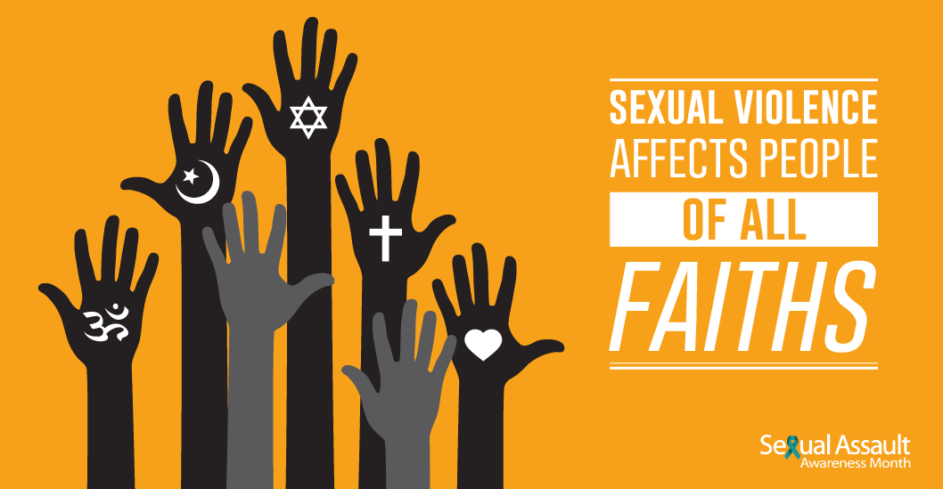 sexual violence affects people of all faiths