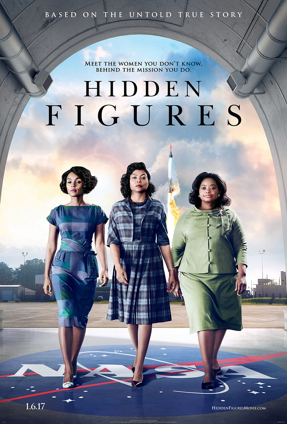"""Hidden Figures"" Movie Poster"