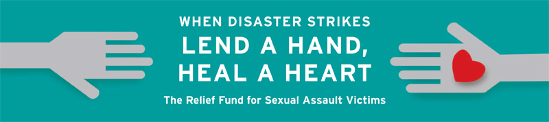 Relief Fund Banner-two hands with heart