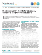 SAAM 2012 Healthy Sexuality Guide Cover