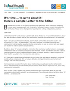 Letter to the Editor Cover