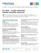 SAAM 2012 Resource List Cover