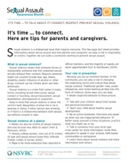SAAM 2012 Tips for Parents Cover