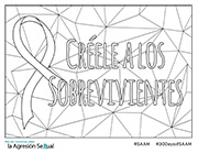 Spanish SAAM Coloring Page Version #2