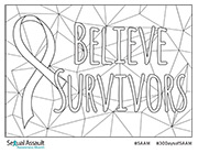 SAAM Coloring Page Version 2