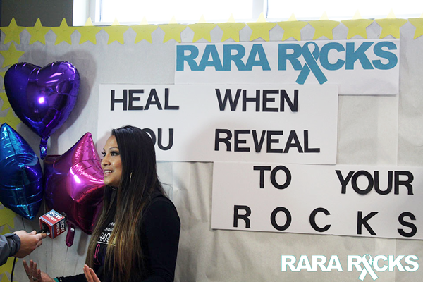 RARA Rocks event