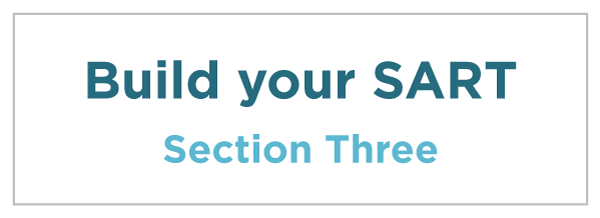 Section Three: Build your SART