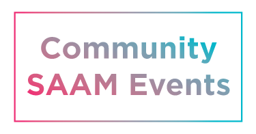 Community SAAM Events