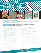 #30DaysOfSAAM Instagram Contest