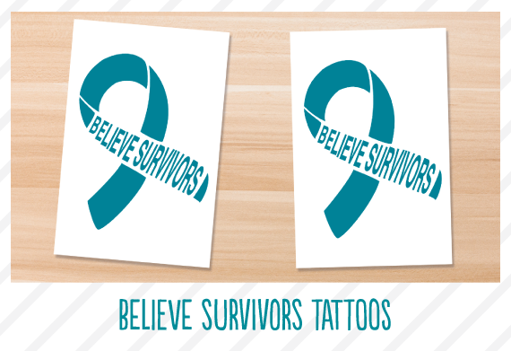 Believe Survivors Tattoos