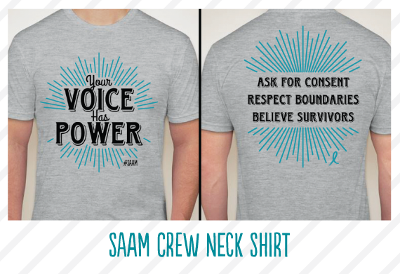 SAAM Crew Neck Shirt