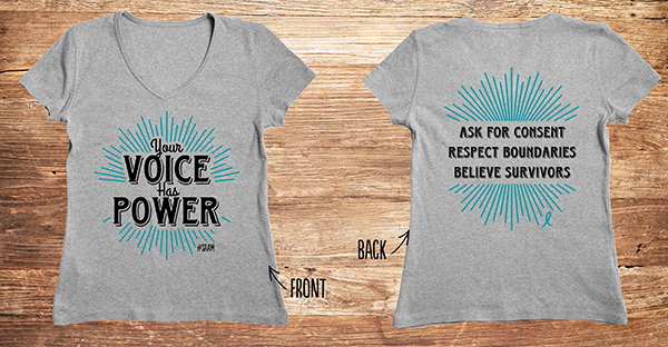 Your voice has power shirts