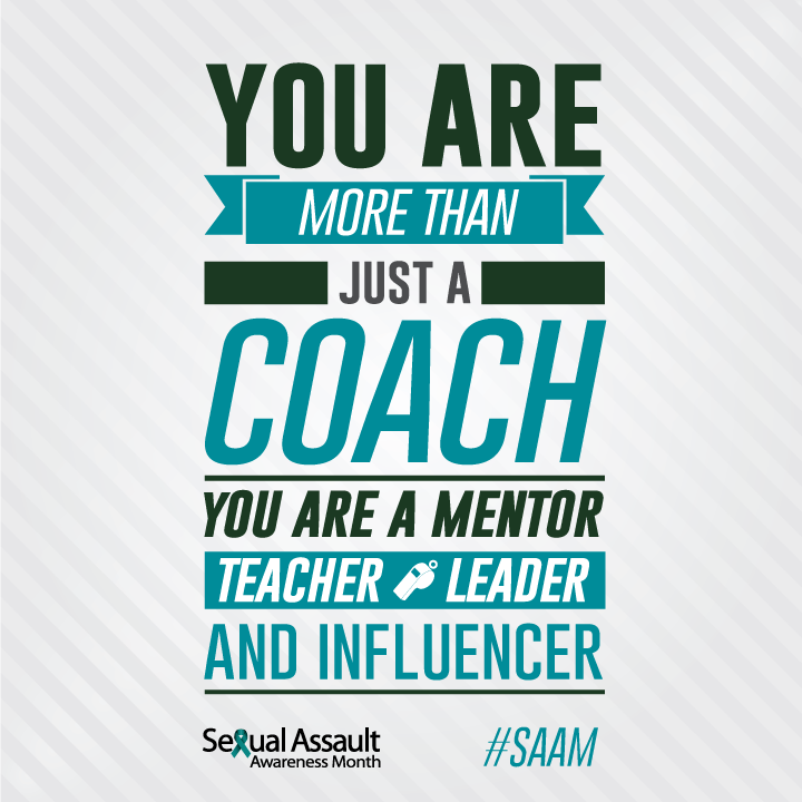 you are more than just a coach, you are a mentor, teacher, leader, and influencer