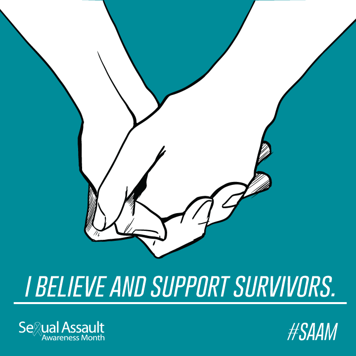 I believe and support survivors