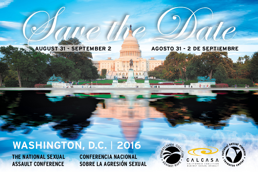 Save the Date Graphic, August 31 to September 2, 2016 in Washington DC