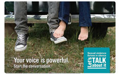 Feet-your voice is powerful