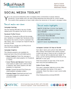 2016 SAAM Social Media Toolkit | National Sexual Violence Resource ...