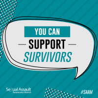 Support Survivors Share Graphic