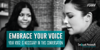 Embrace Your Voice Share Graphic