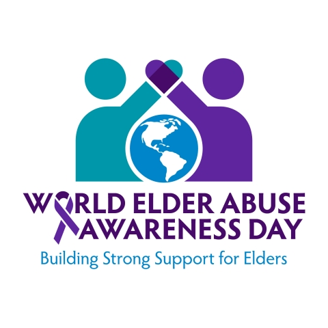 World Elder Abuse Awareness Day Logo