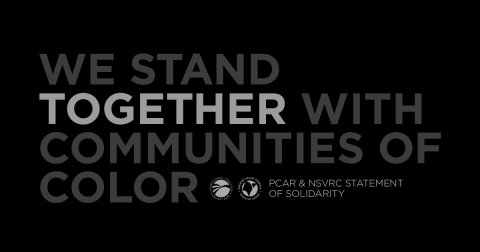 We stand together with communities of color