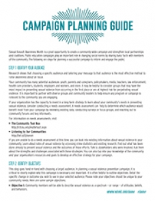 Image of Campaign Planning Guide