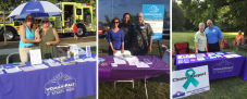 Womanspace volunteers at National Night Out