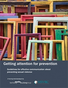 Image of Getting attention for prevention