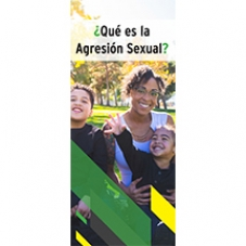 Image of Qué es la Agresión Sexual Folleto